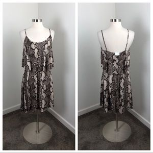 NEW Divided by H&M snakeskin dress